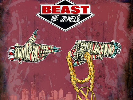 Beast The Jewels (Beastie Boys vs Run The Jewels) (Created by David Begun aka DBegun)