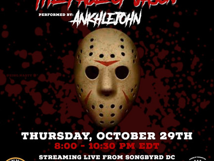"""Ankhlejohn Performing his Album """"The Face of Jason"""" Live Tonight"""