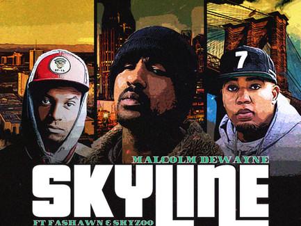 """Malcolm Dewayne - """"Skyline"""" ft. Fashawn and Skyzoo"""