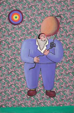 Man with Balloon