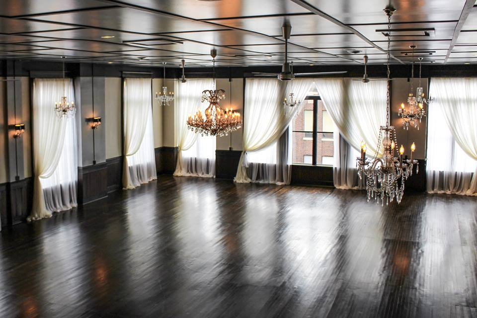 After: Ballroom: Historic Renovation