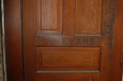 Before: Dr. Evans Door