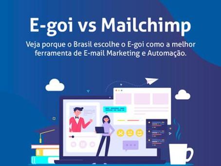 Melhor alternativa ao Mailchimp