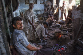 Blacksmiths in India