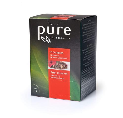 Pure Tee Früchtetee Himbeer Hibiskus