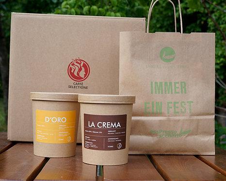 KAFFEEPOST D'ORO + LA CREMA