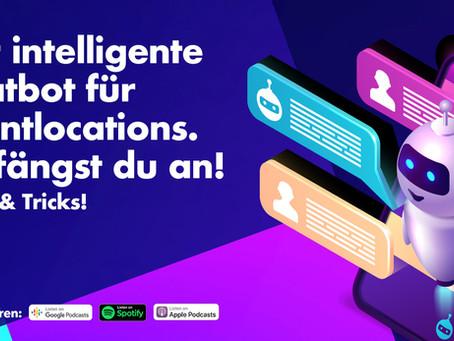 Der intelligente Chatbot für Eventlocations. So fängst du an!