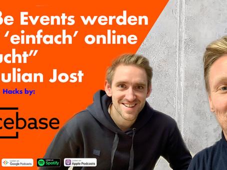 """Julian Jost Geschäftsführer Spacebase """"Große Events werden bald 'einfach' online gebucht"""""""