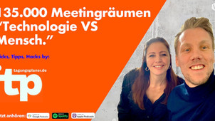 """tagungsplaner.de mit 135.000 Meetingräumen """"Technologie vs Mensch."""""""