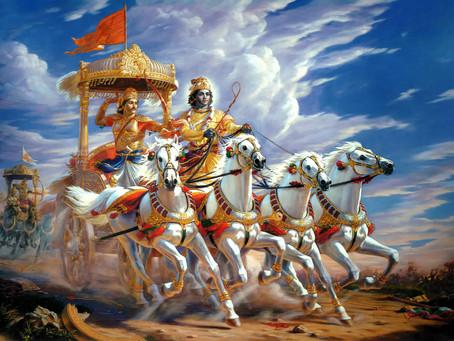 The Chariot: Arjuna, Krishna, The Mind & The Senses.