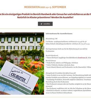 Natürlich im Kloster_Kapuzinerkloster Solothurn.JPG
