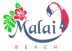 Logomarca Malai Beach