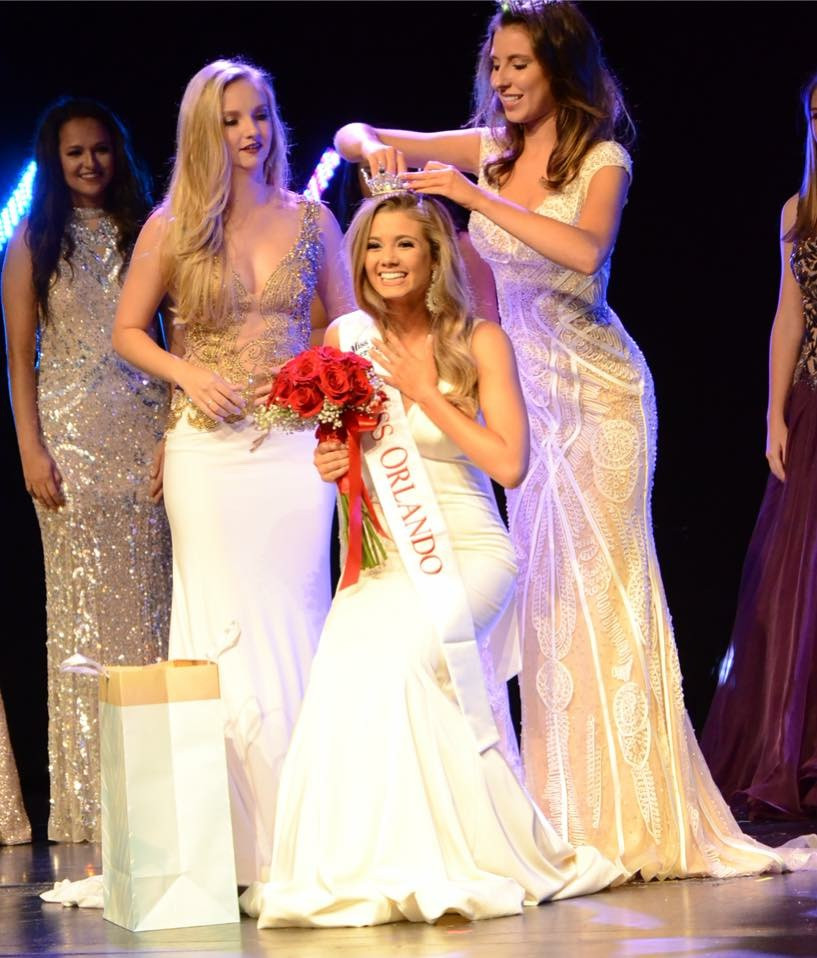 Crowning Michaela McLean, Miss Orlando 2018