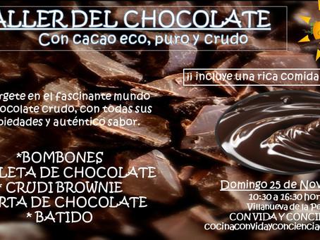 TALLER DEL CHOCOLATE... del bueno