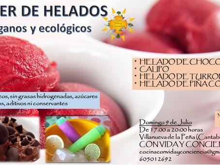 TALLER DE HELADOS VEGANOS