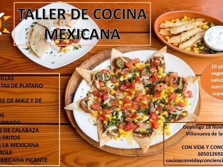 TALLER DE COCINA DE MEXICO
