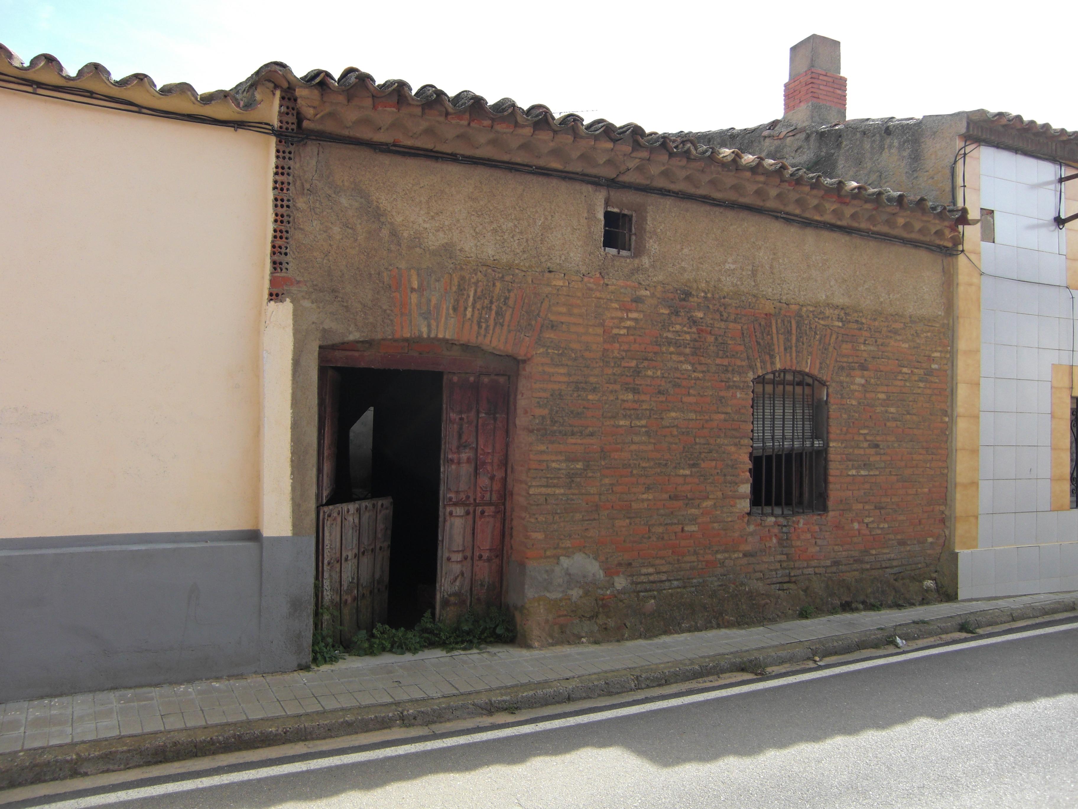 Antigua fachada.