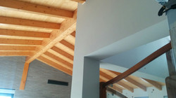 Interior salón - escalera