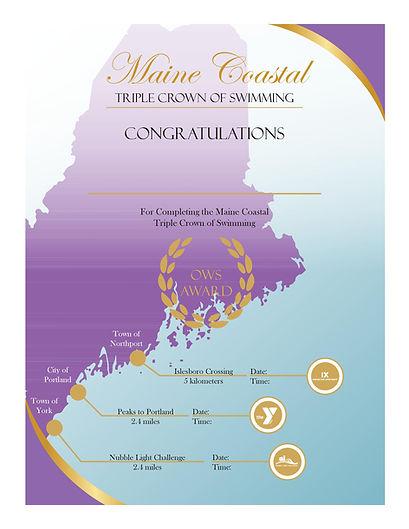 Maine Coastal Triple Crown Certificate.j