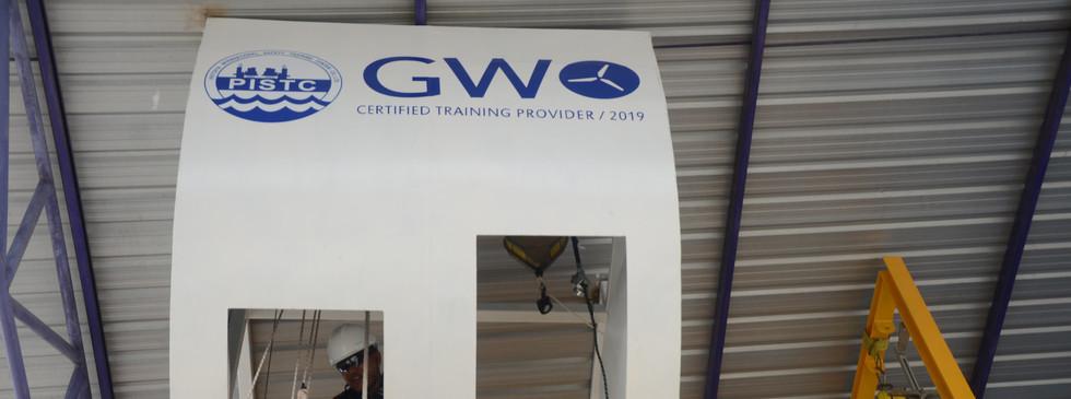GWO Approved Evacuation from Wind Turbine Simulator