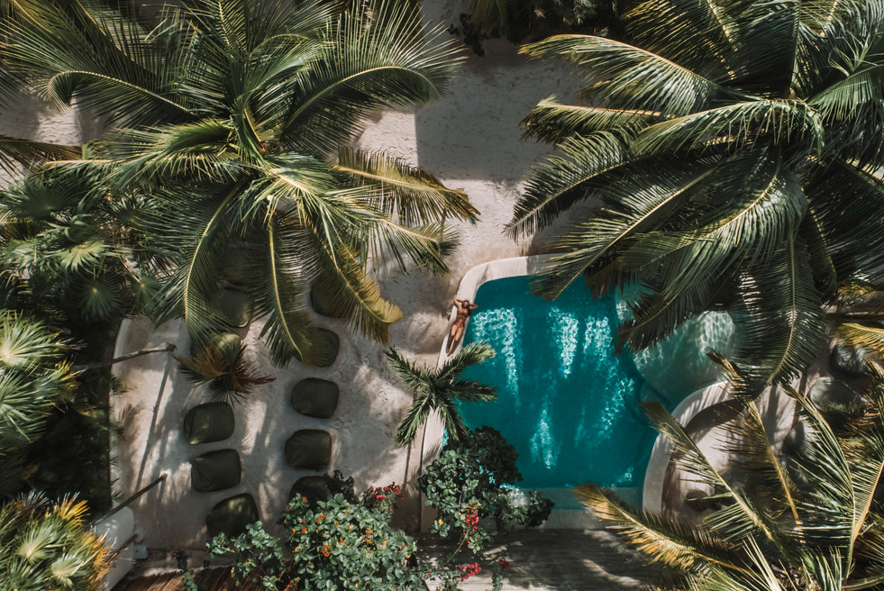 Take in the beauty of Tulum at Zorba
