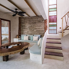Villa 3 is a beautiful 3BR home tucked amidst the natural flora of our Zorba property.
