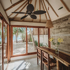 This villa is a gorgeous new 2BR home on our lush tropical Zorba property.