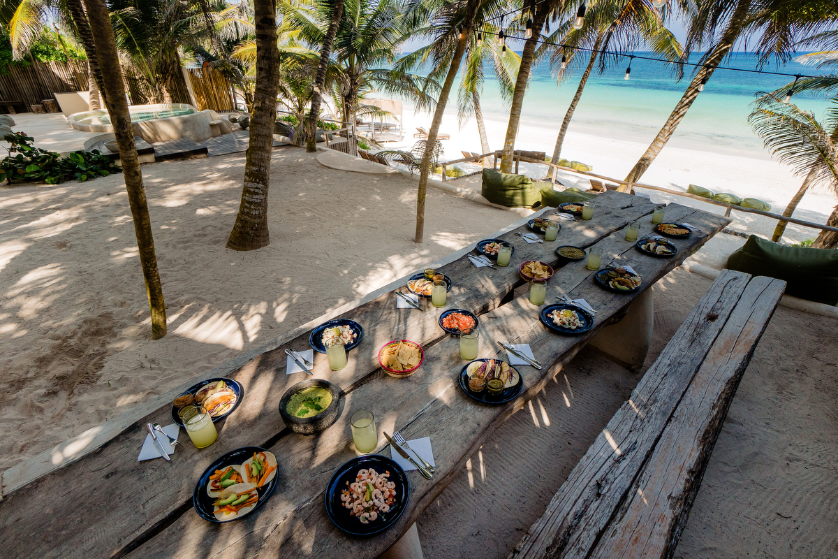 Breakfast, Lunch + Snacks at Zorba Tulum