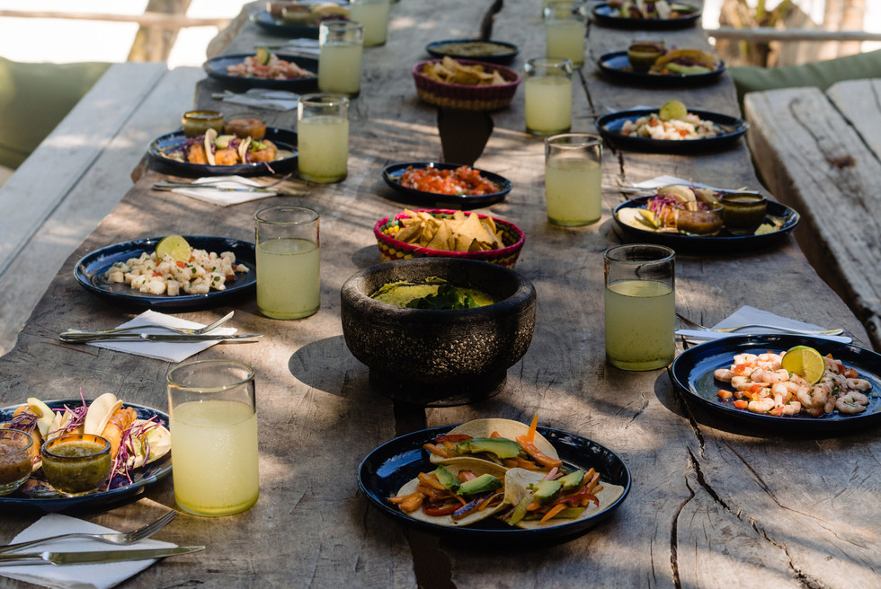 Enjoy Authentic Mexican Food onsite at the Zorba Taco Bar
