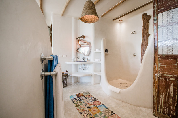Double Headed Shower in Tulum Mexico
