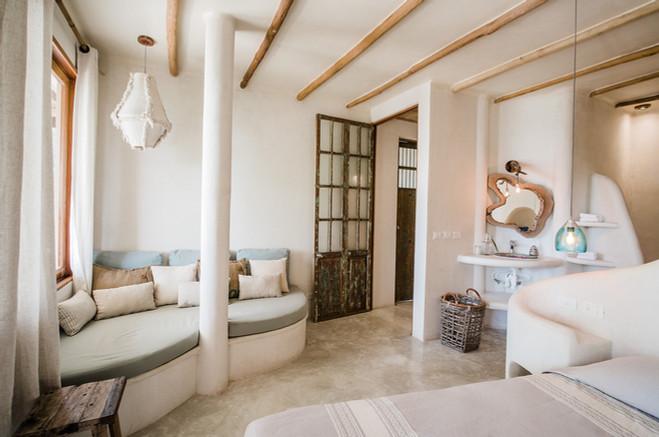 Masterbedroom of Zorba Villa 5