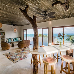 Enjoy stellar views of Tulum beach from this incredible penthouse perch!