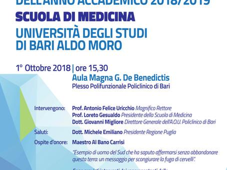 Inaugurazione della Scuola di medicina 2018/2019