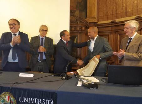 """L'Università di Bari laurea il primo """"studente rifugiato"""""""