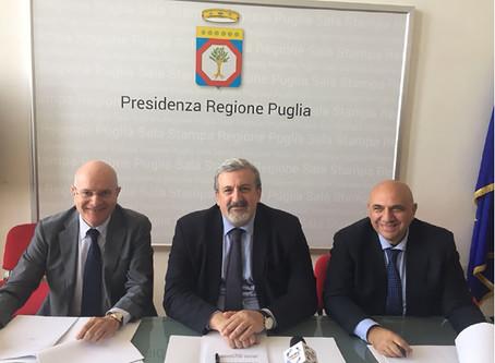 Regione Puglia e Università Pugliesi    Conferenza stampa - 11 aprile 2018