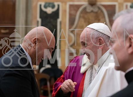 Il Rettore e il Papa