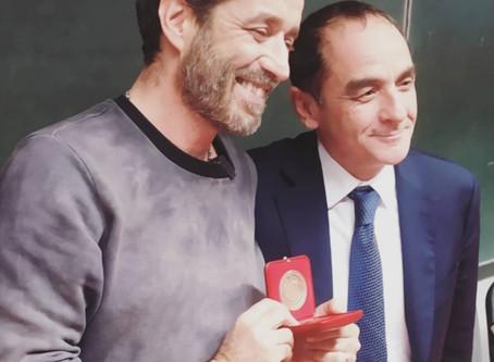 Daniele Silvestri incontra gli studenti dell'Università di Bari