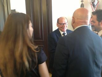 Il Rettore Uricchio in visita presso il  Comune di Rzeszow - Polonia - aprile 2018