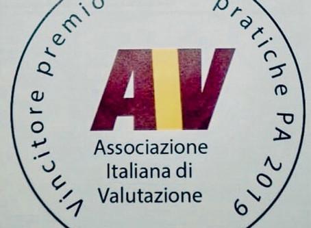 Uniba riceve il primo premio buone pratiche PA 2019 dall'Associazione Italiana di Valutazione