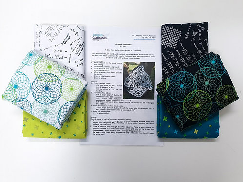 Quilt Kit - Around The Block