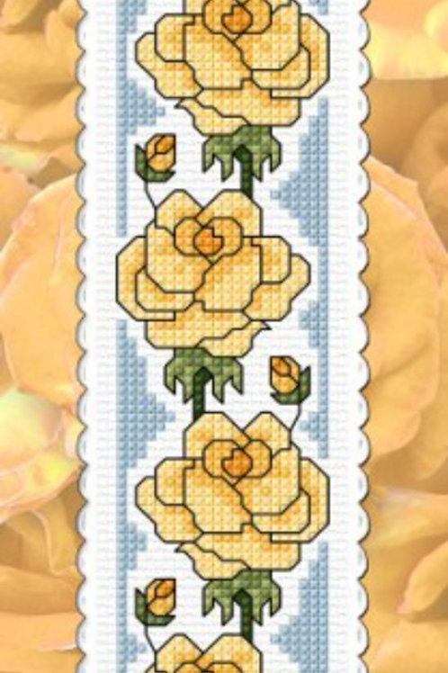 Yellow Roses - Friendship Bookmark Kit - NZ Designer