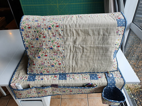 Sewing Machine Cover Pattern - Sew @ Home set