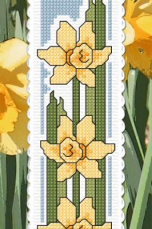 Daffodils - Regard Bookmark Kit - NZ Designer