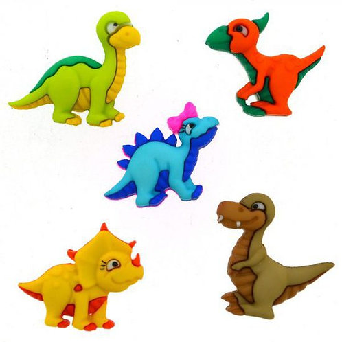 Dino-Mite Button Pack