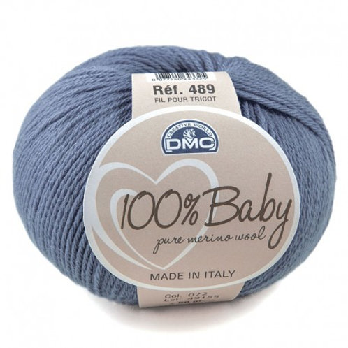 Denim 72 Baby Merino Yarn