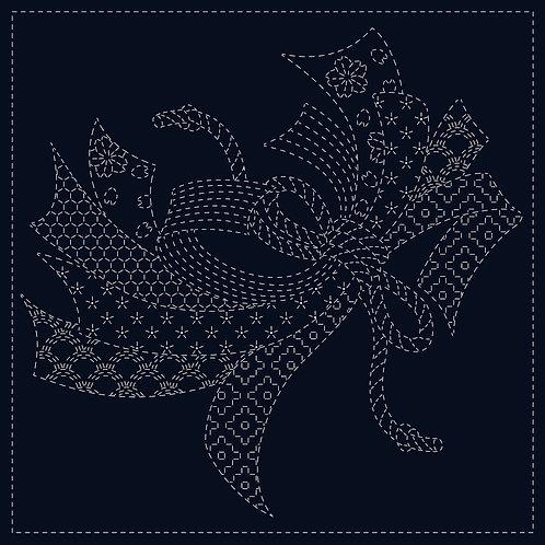 Sashiko Cloth - Noshi