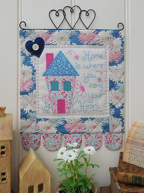 Home Mini Wall-hanging Pattern