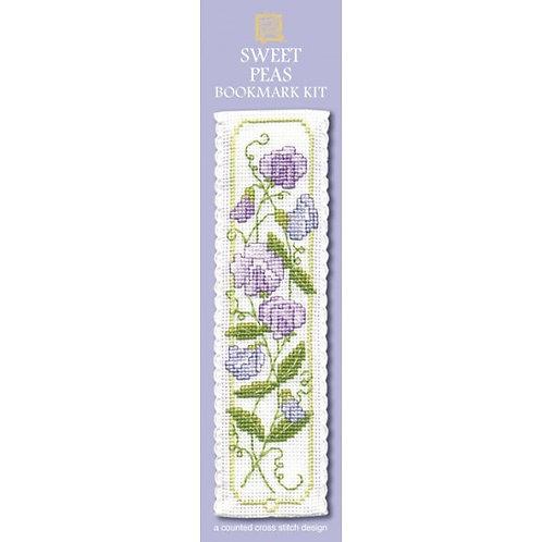 Sweet Peas Bookmark Kit - Textile Heritage