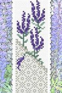 Lavender & Lace Bookmark Kit - NZ Designer