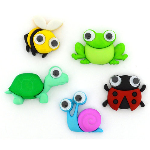 Wild and Wacky Button Pack